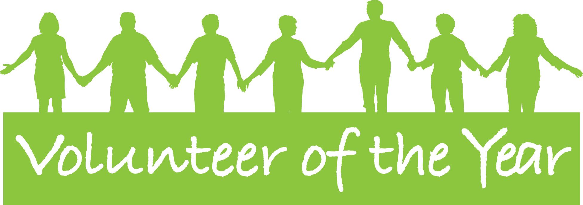 Volunteer of the year banner